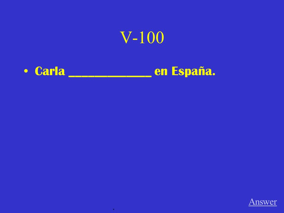 IV-500 Yo __________________ cansado. Answer.