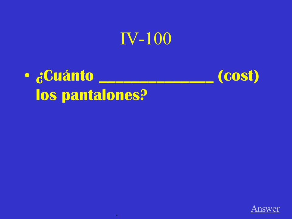 III-500 Answer. ¿Qué ____________ (think) tú?