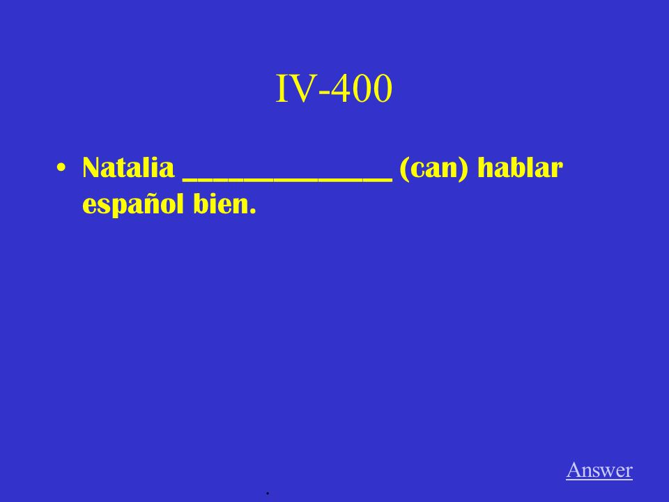 IV-300 Los estudiantes no __________________ (find) su tarea. Answer.