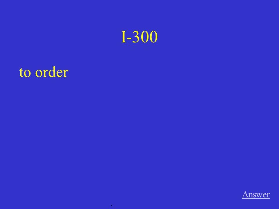 III-300 Answer. El camarero __________ (serves) la comida.