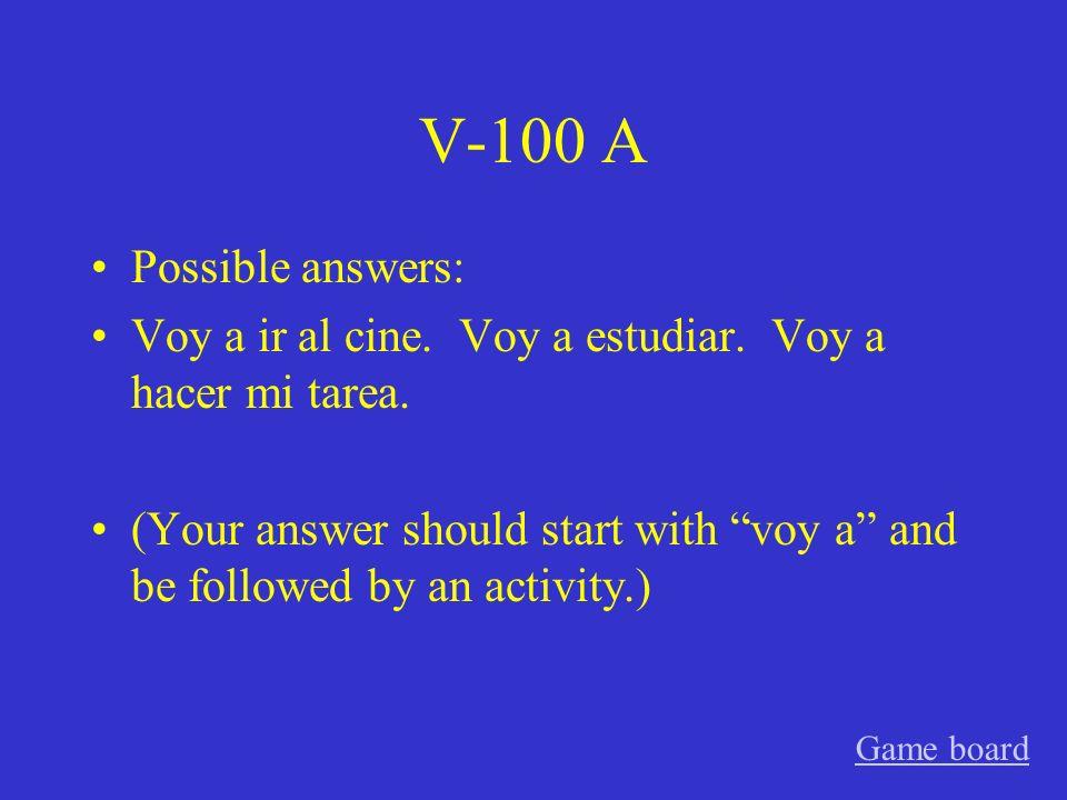 IV-500 A vuelve Game board