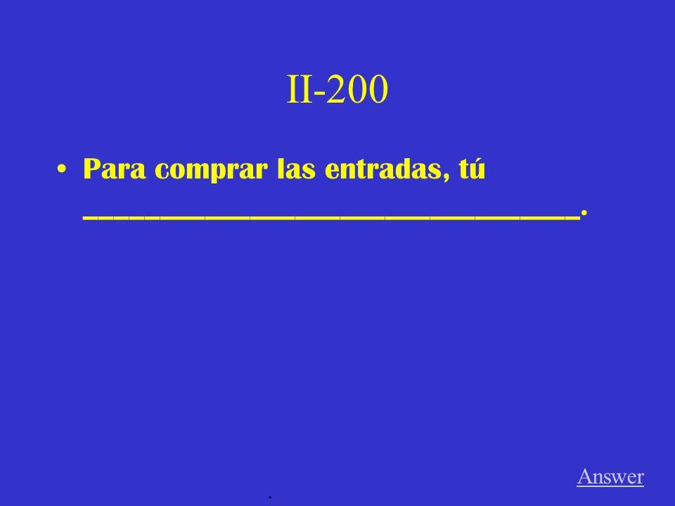 I-200 A Las verduras Game board