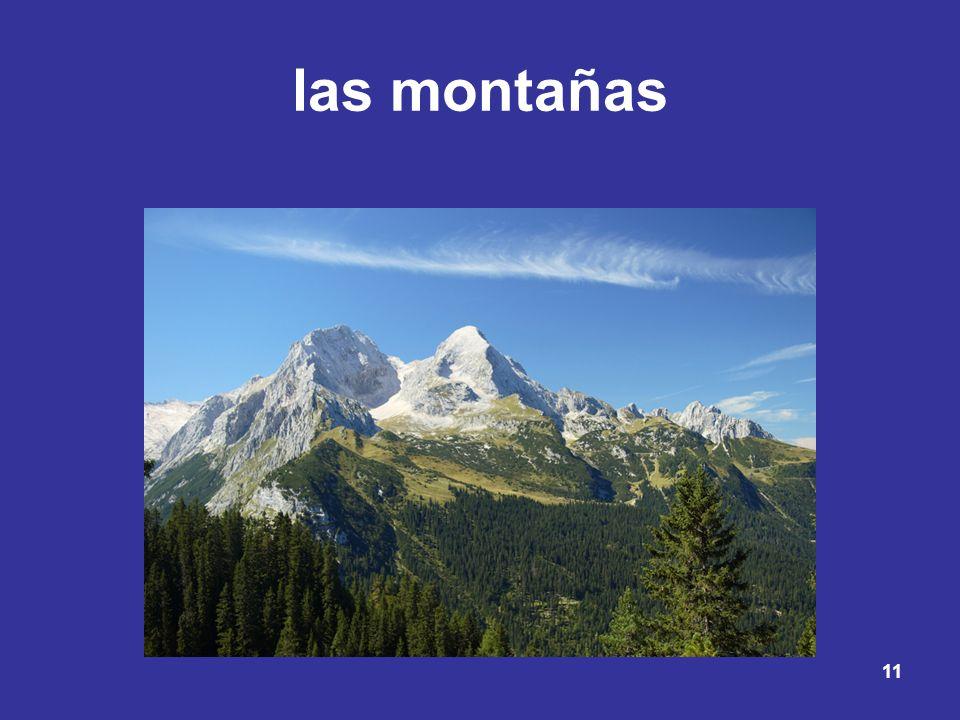 11 las montañas