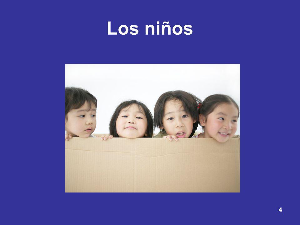 4 Los niños