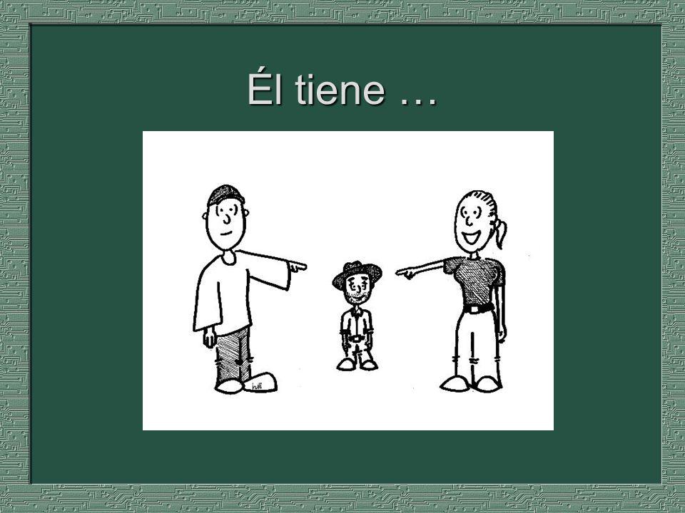 Nosotros __________ dos padres. tenemos tienen tengo tienes tiene