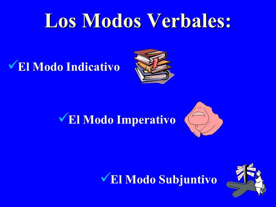 The Subjunctive Es necesario que hagas ejercicio.Its necessary that you exercise.