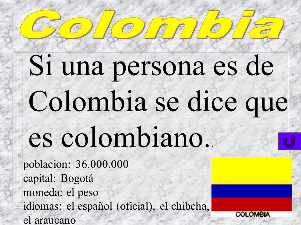 venezolano (a) poblacion: 21.000.000 capital: Caracas moneda: el peso idiomas: el español (oficial), varios idiomas indígenas Una persona de Venezuela