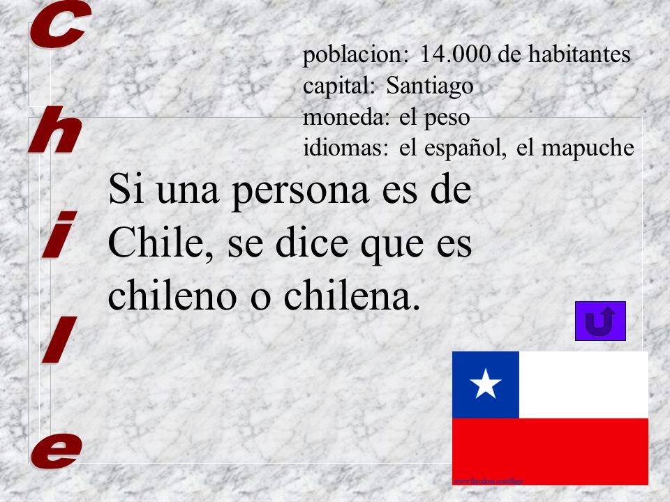 ¡Vaya qué país más bonito! Se dice que es boliviano… Y si es una mujer se dice que es boliviana... poblacion: 8.000.000 de habitantes capital: La Paz,