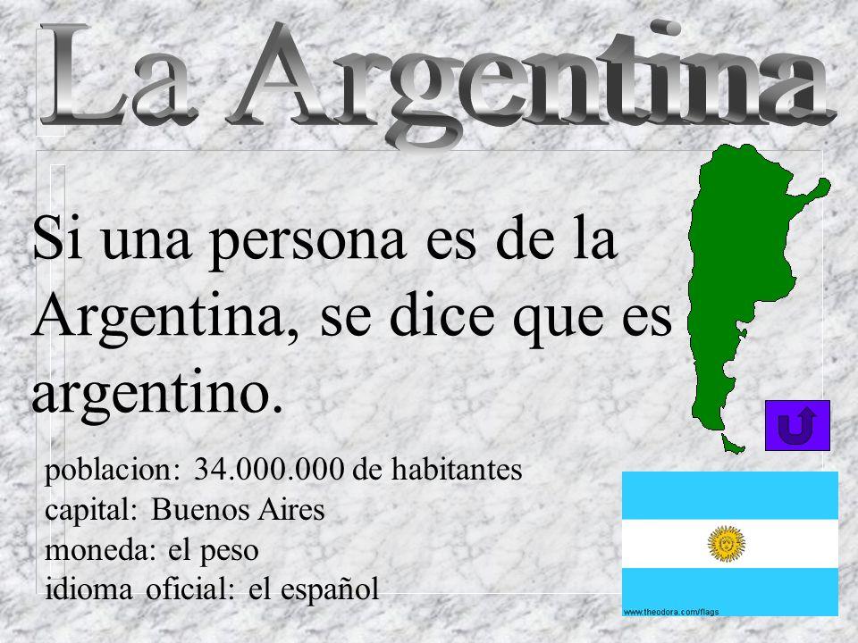 Si una persona es de Chile, se dice que es chileno o chilena. poblacion: 14.000 de habitantes capital: Santiago moneda: el peso idiomas: el español, e