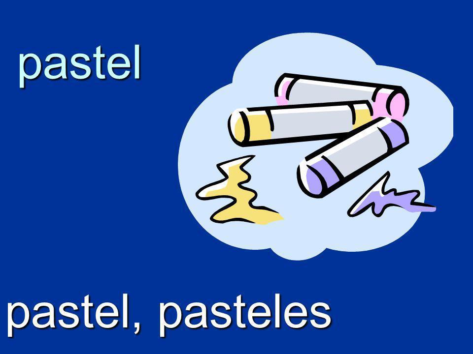 pastel pastel, pasteles