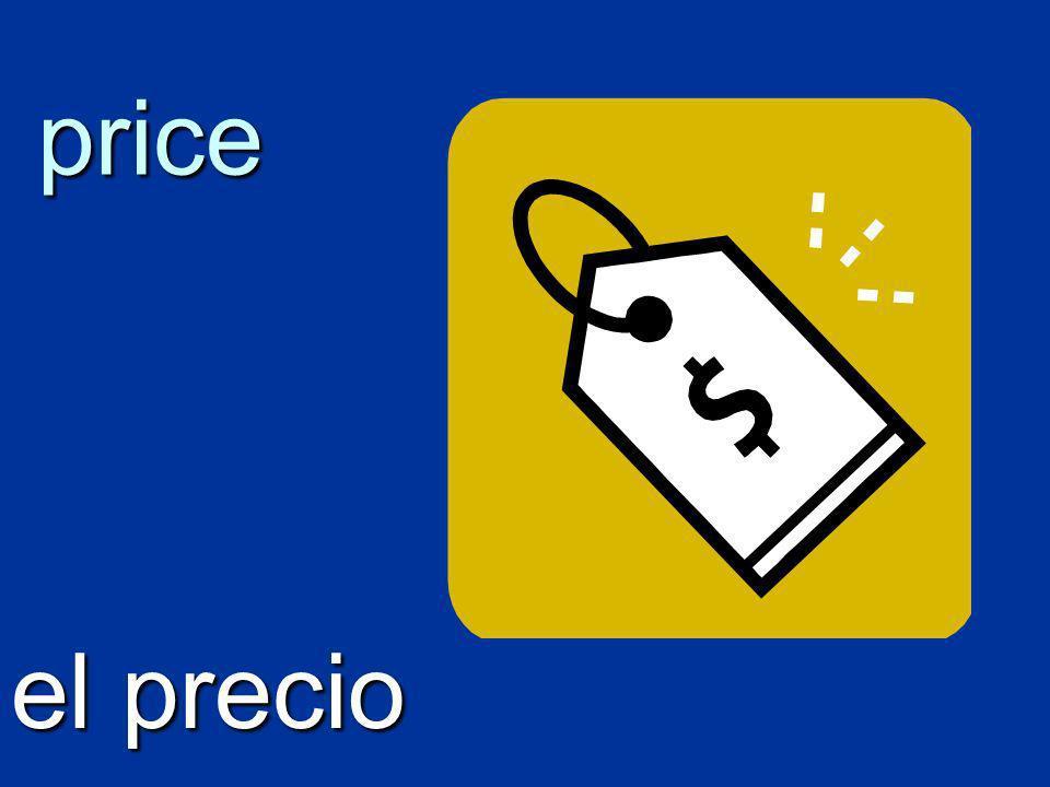price el precio