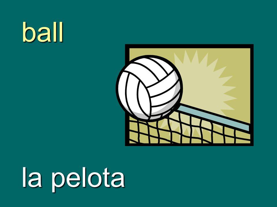 ball la pelota