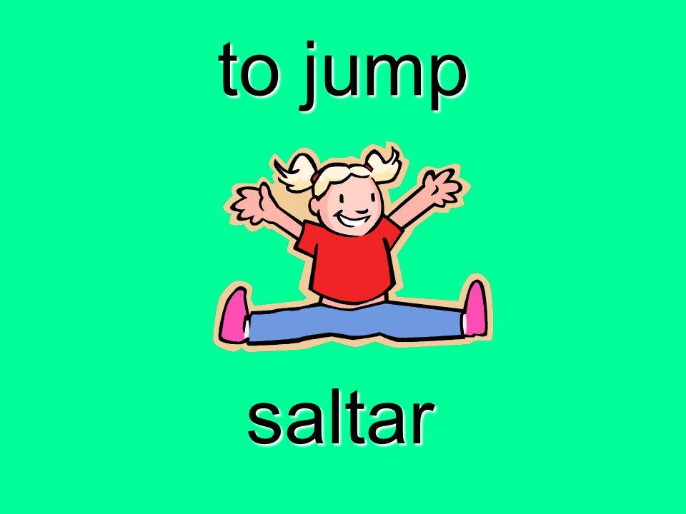 to jump saltar