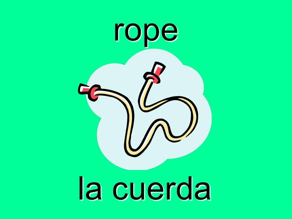 rope la cuerda