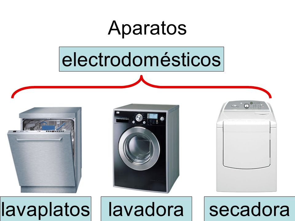 Aparatos lavadoralavaplatossecadora electrodomésticos