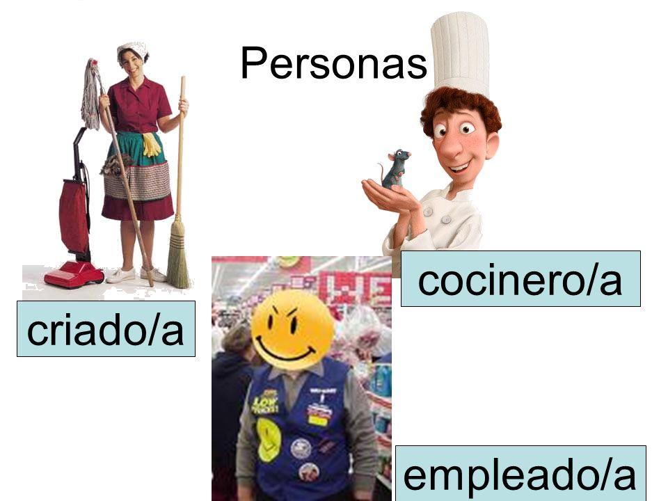 Personas criado/a empleado/a cocinero/a