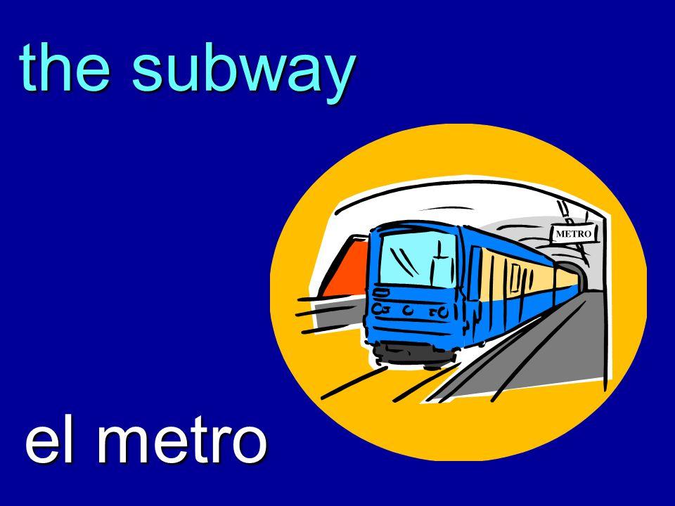 the subway el metro