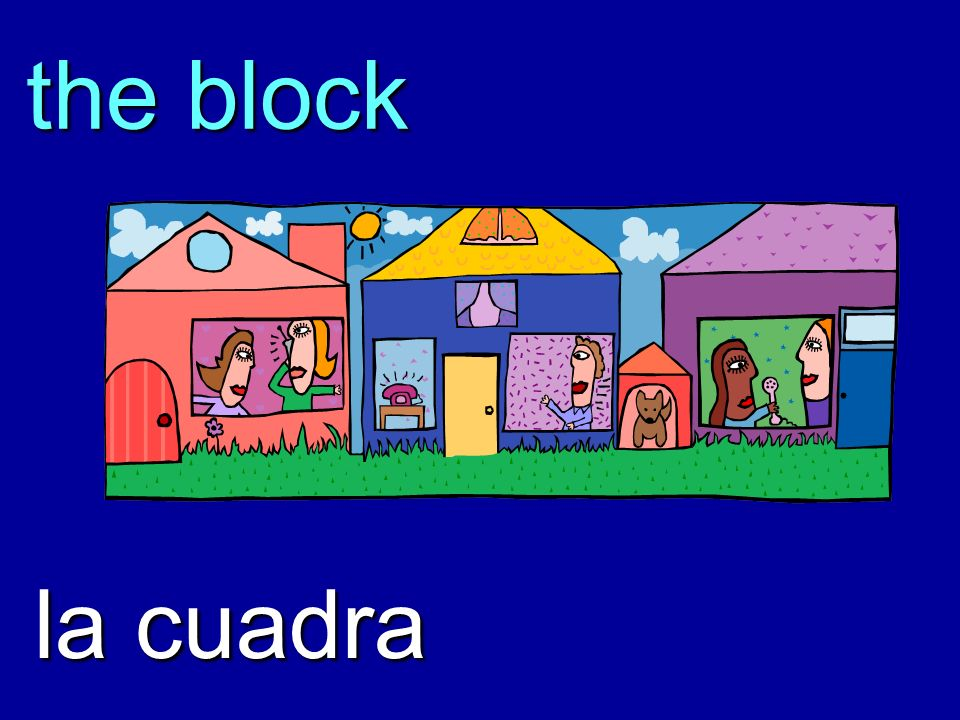 the block la cuadra