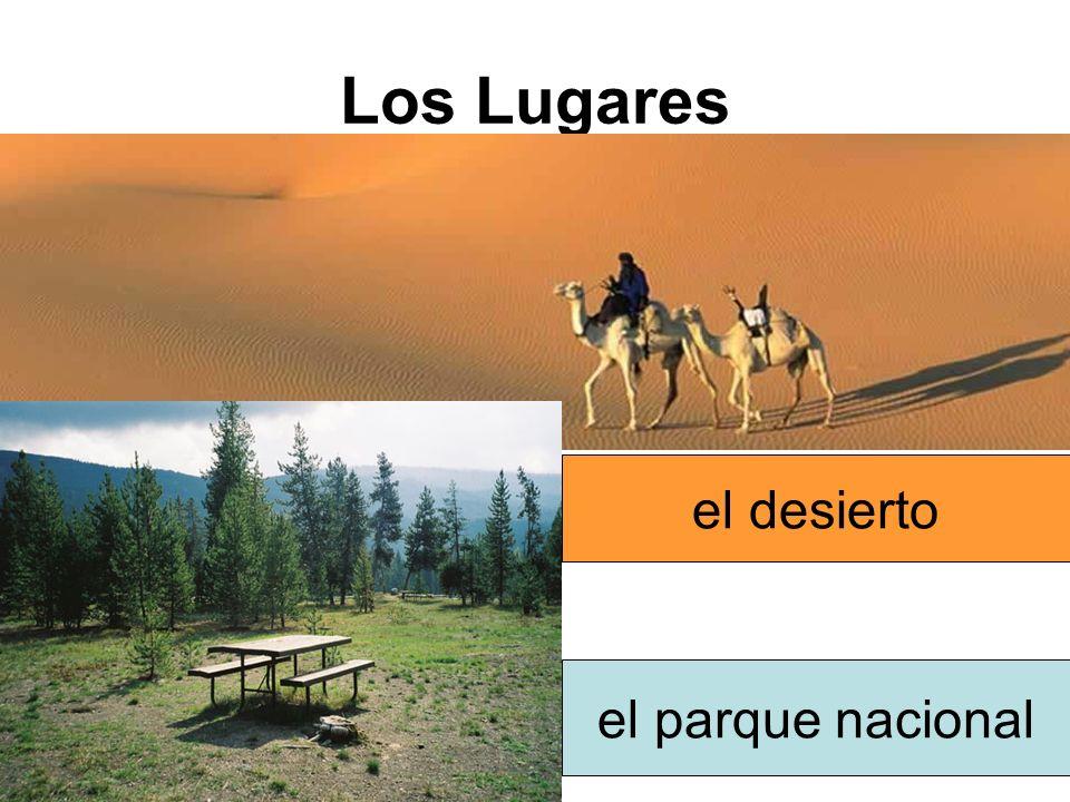 Los Lugares el desierto el parque nacional