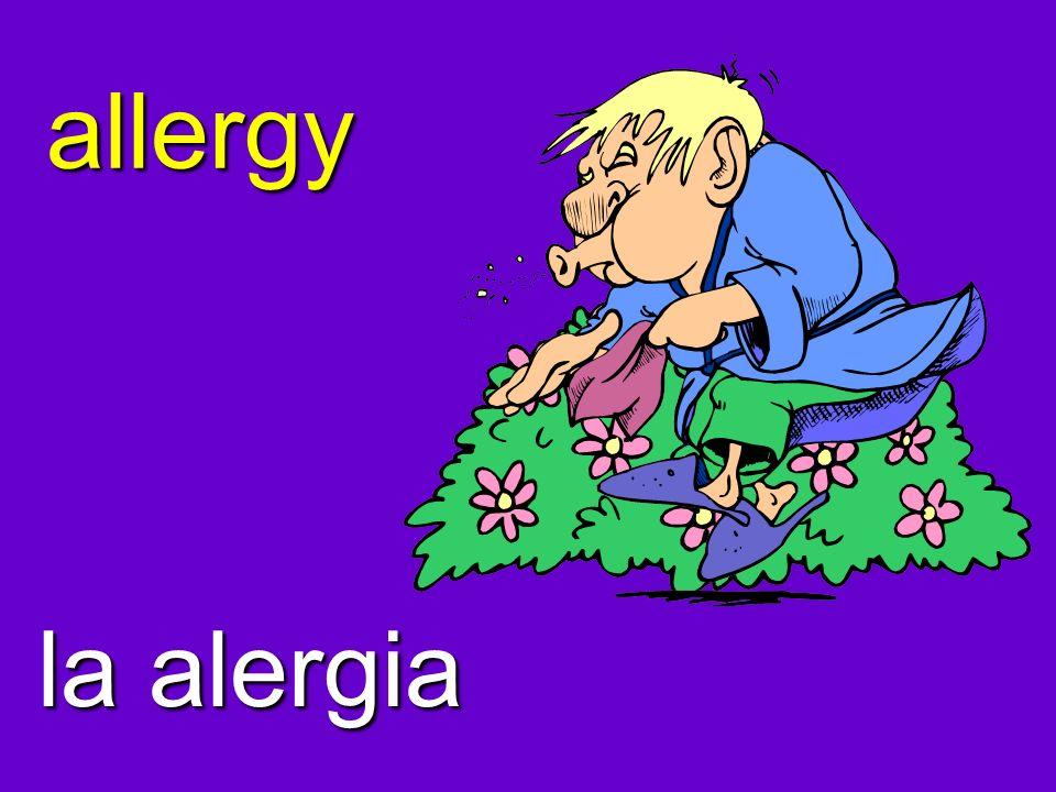 allergy la alergia