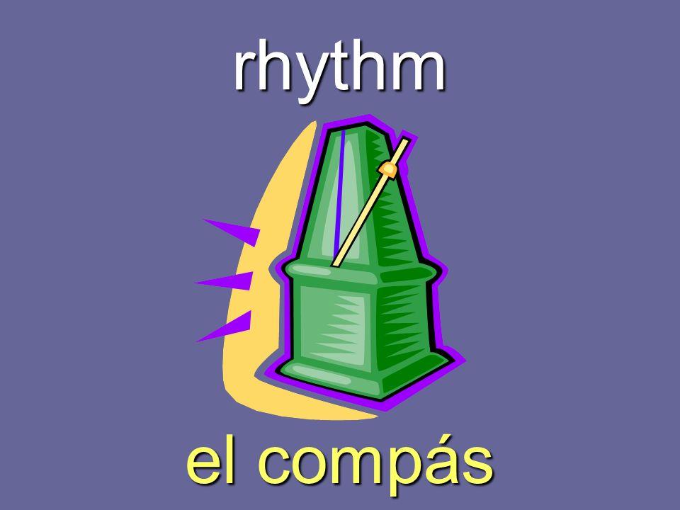 rhythm el compás