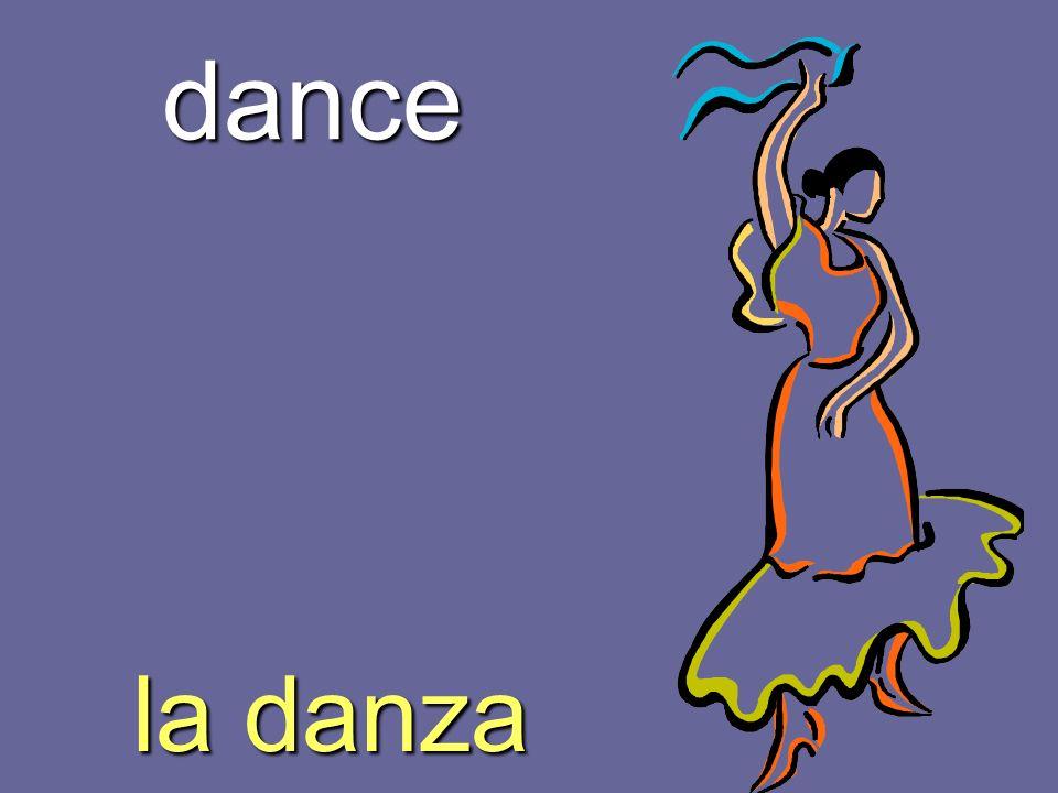 dance la danza