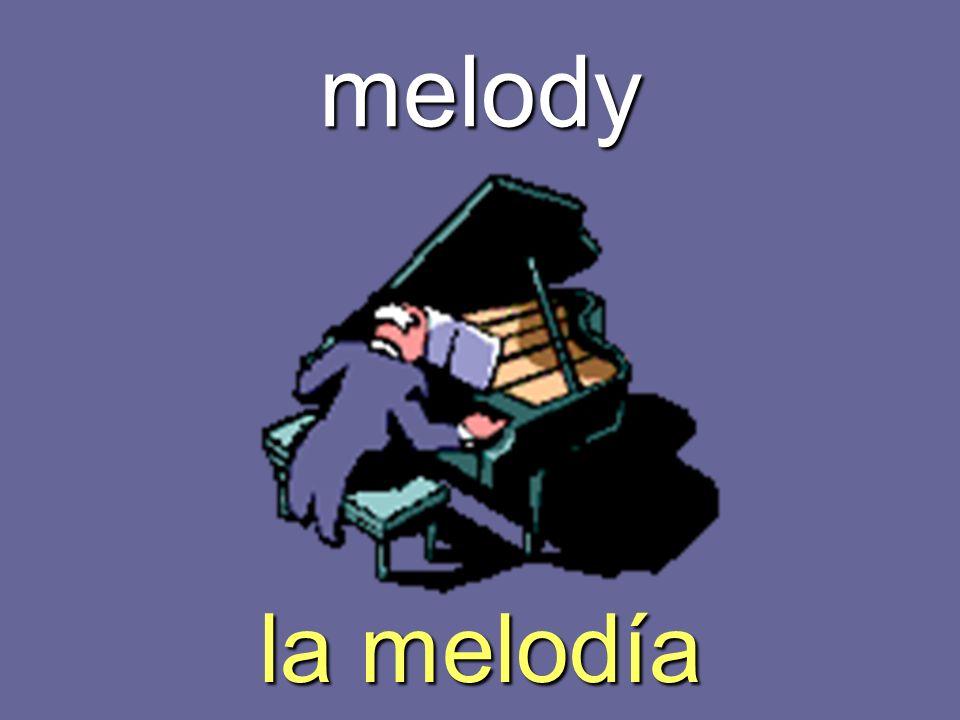 melody la melodía