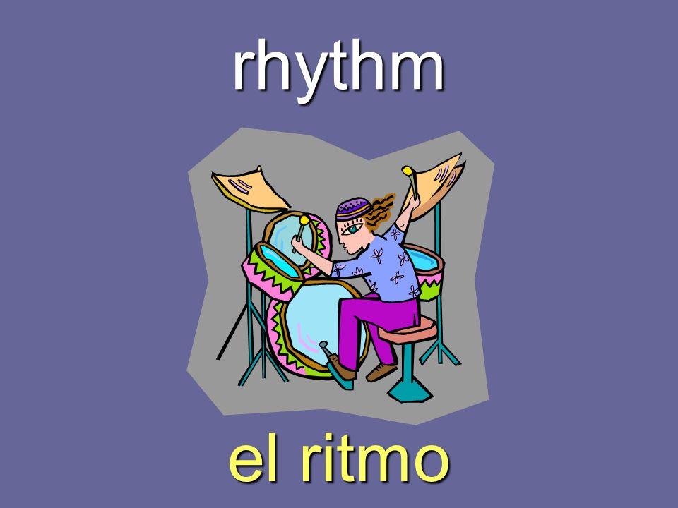 rhythm el ritmo