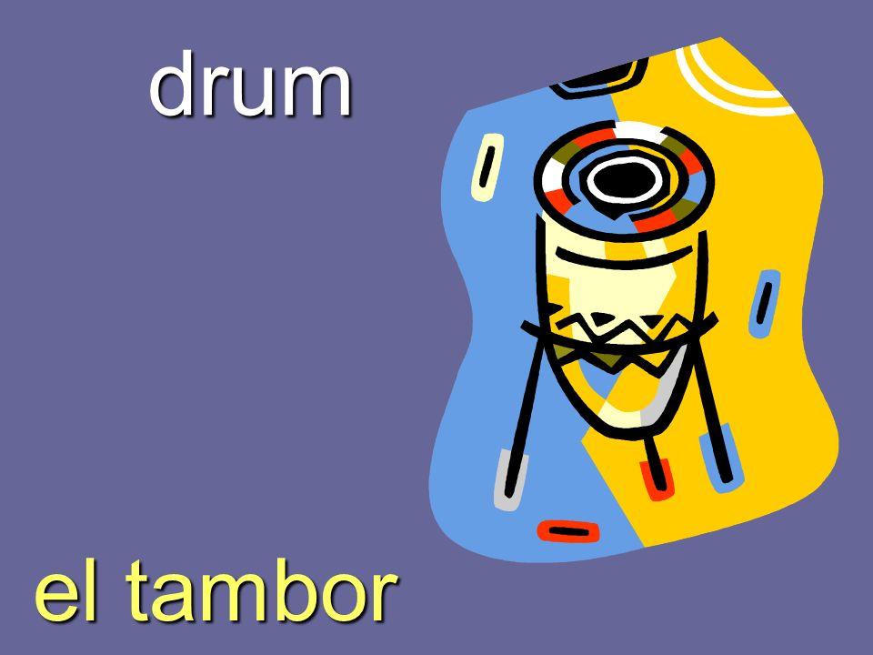 drum el tambor