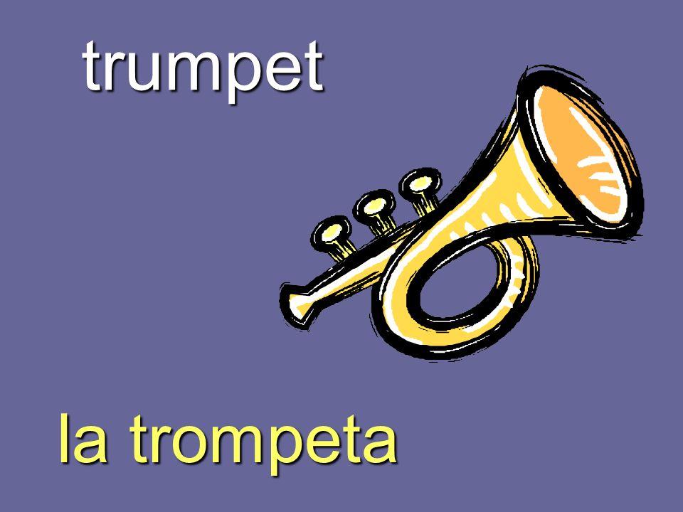 trumpet la trompeta