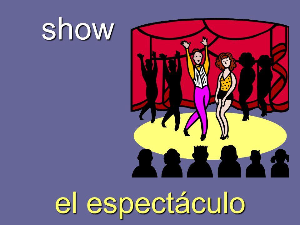 show el espectáculo