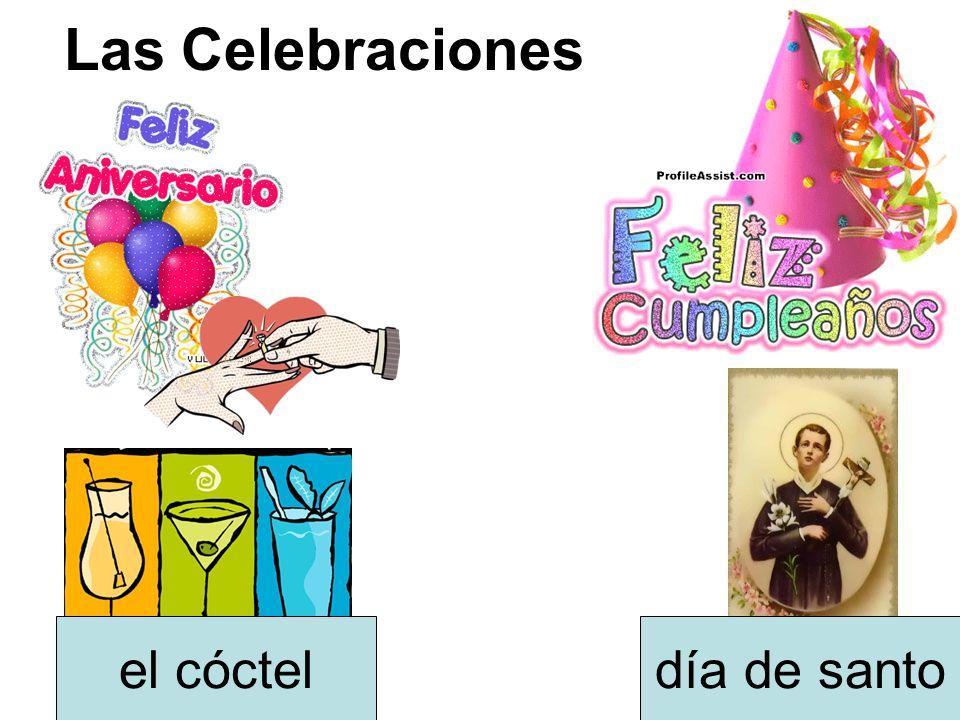 Las Celebraciones día de santoel cóctel