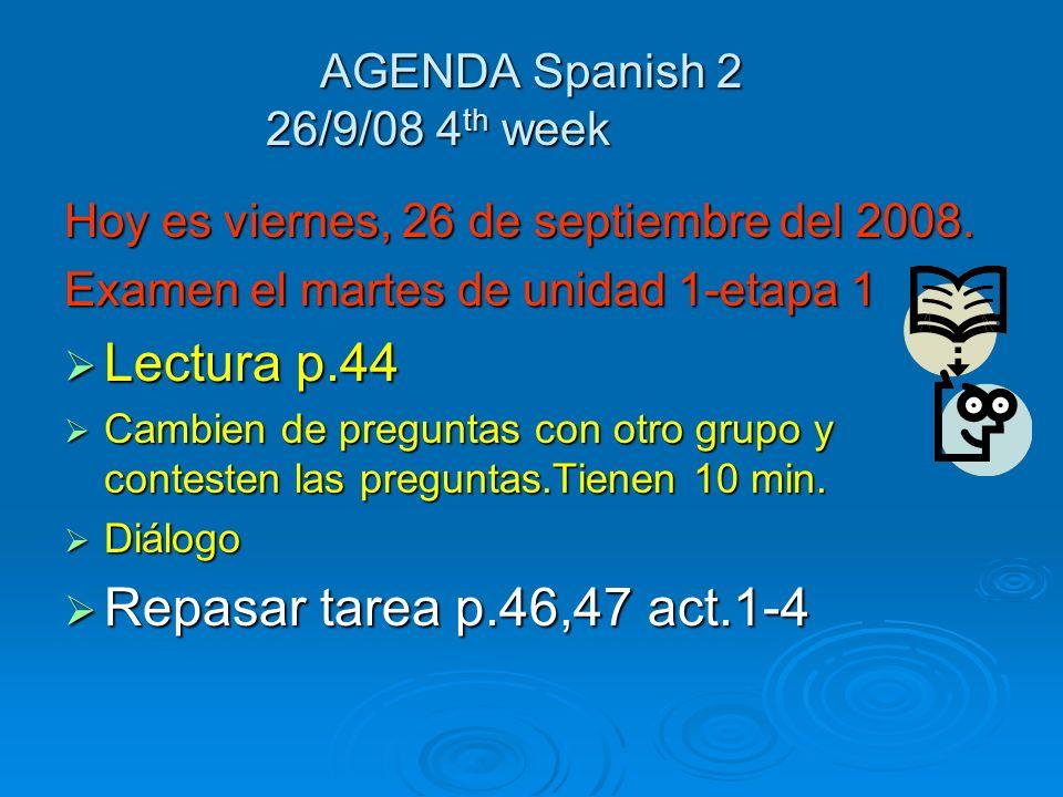 Enfoque 23/9/08 Conjuga los verbos estar, tener y andar en el pretérito en todas las formas Conjuga los verbos estar, tener y andar en el pretérito en