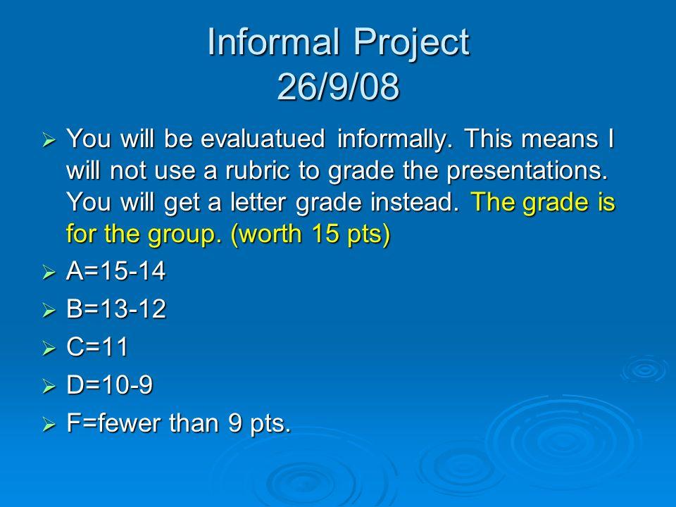Instrucciones para el diálogo 26/9/08 Escriban un diálogo (3 min.) sobre un viaje.Tú eres un estudiante de América quien viajó a España el año pasado.