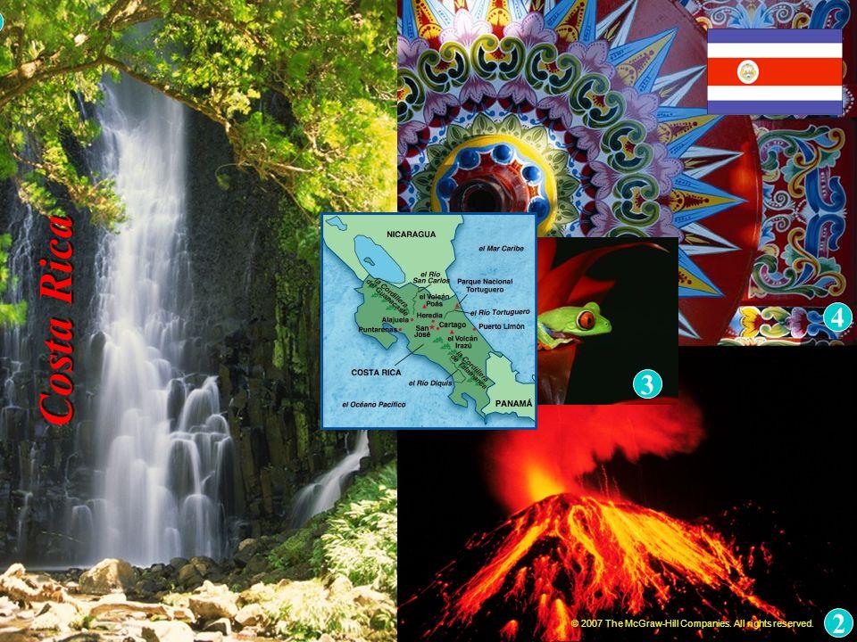 Naturaleza, UNESCO: Isla del Coco Costa Rica © 2007 The McGraw-Hill Companies.