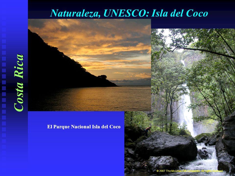 Naturaleza: Flora y fauna Costa Rica La mariposa morfo azul © 2007 The McGraw-Hill Companies.