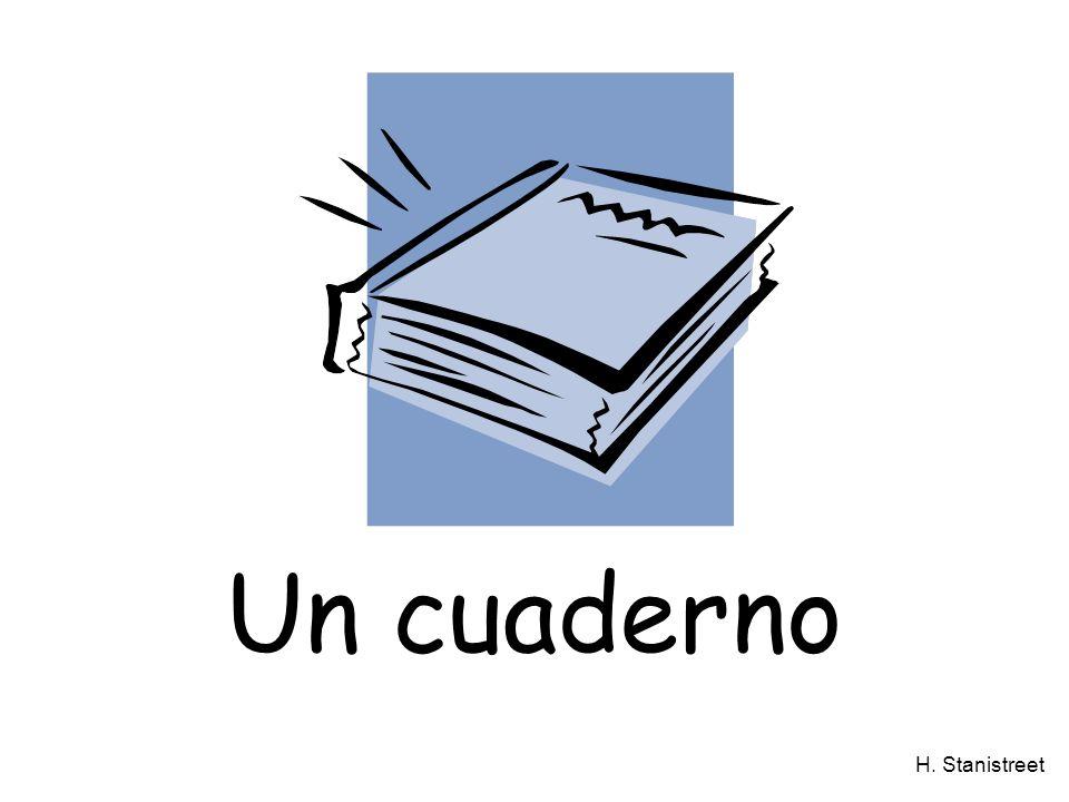 H. Stanistreet Un cuaderno