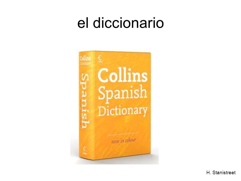 H. Stanistreet el diccionario