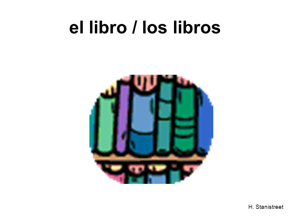 H. Stanistreet el libro / los libros