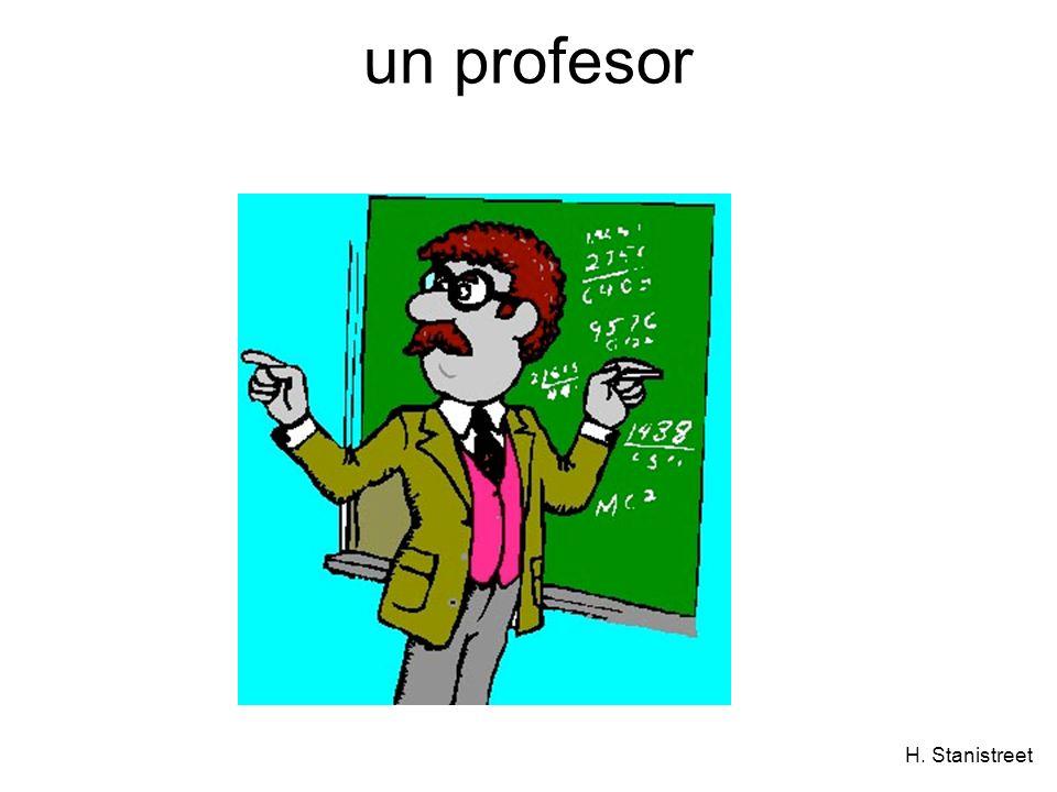 H. Stanistreet un profesor