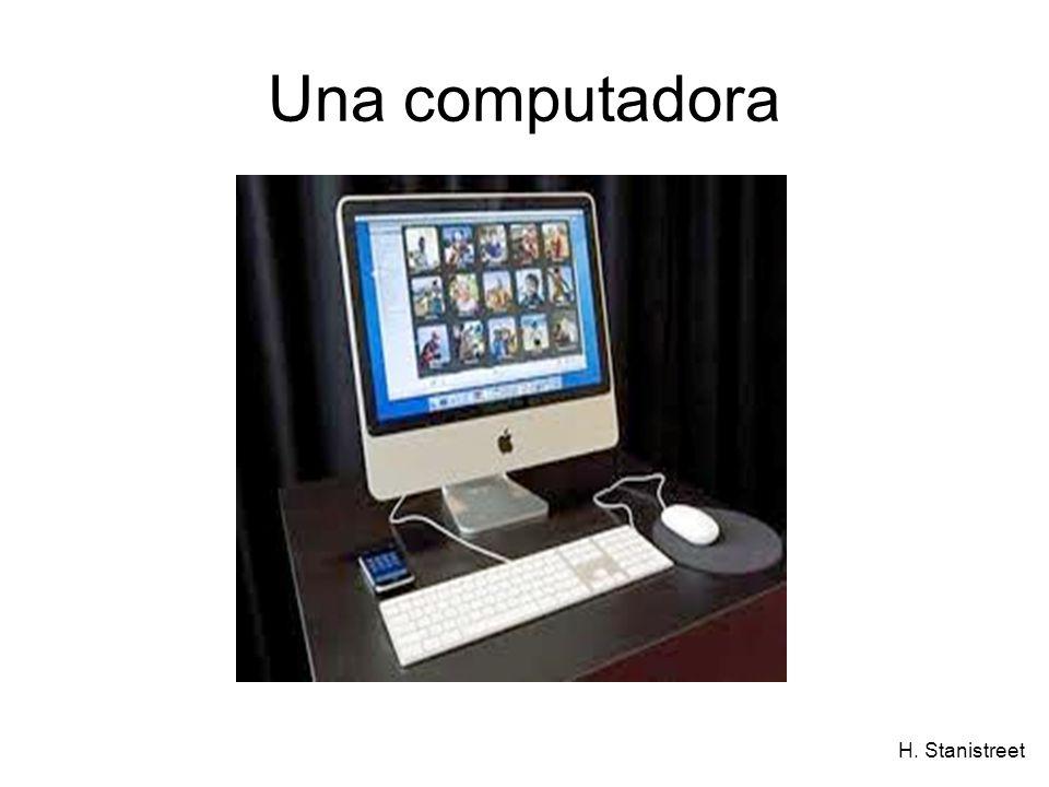 H. Stanistreet Una computadora