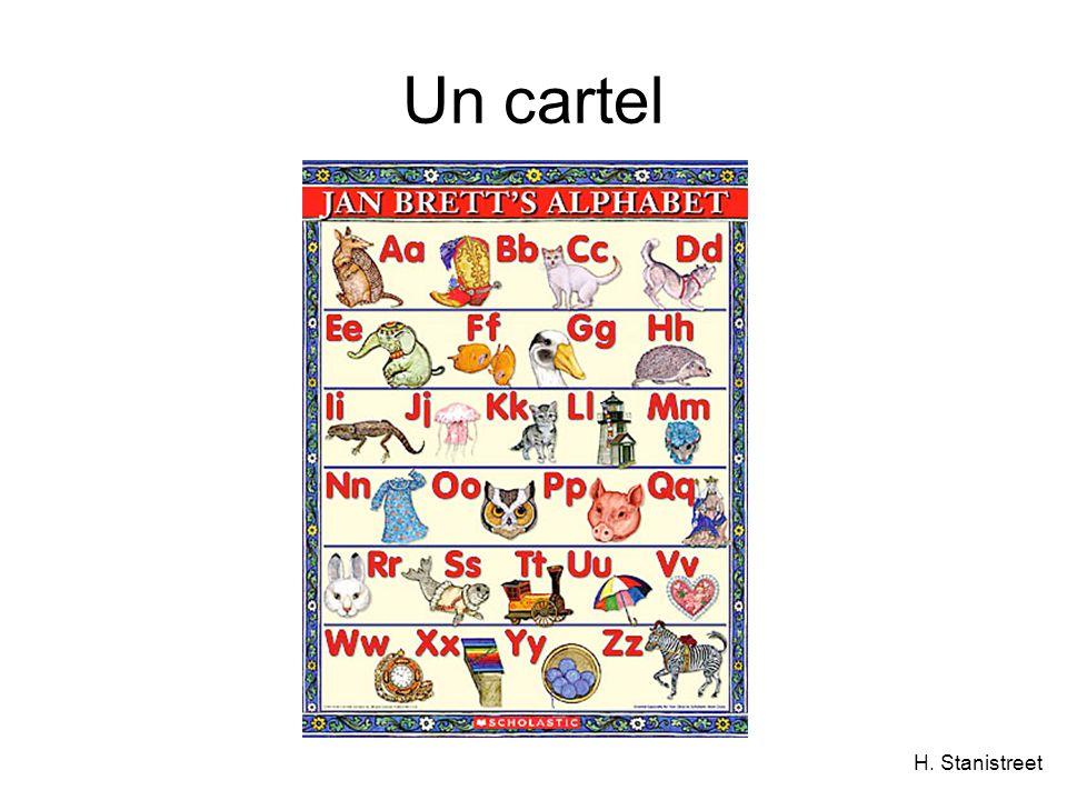 H. Stanistreet Un cartel