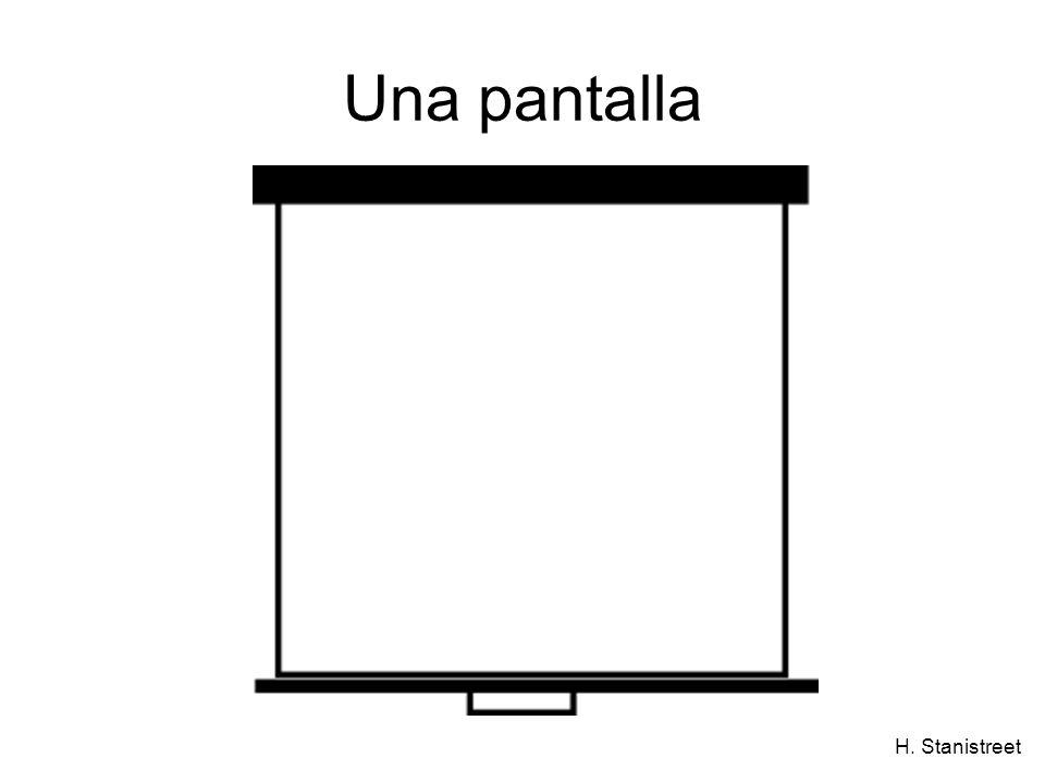 H. Stanistreet Una pantalla