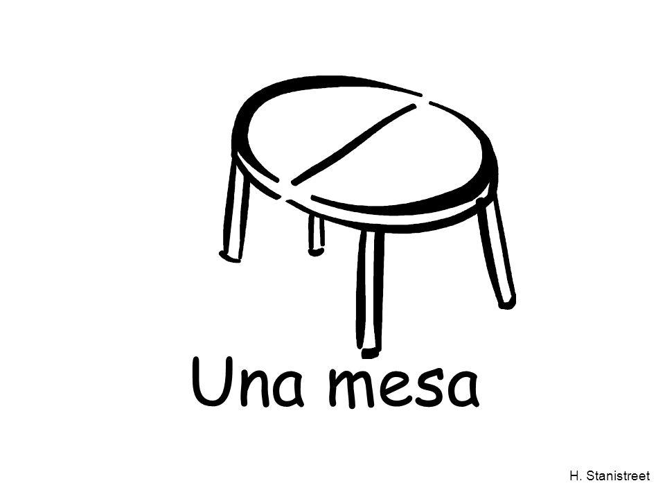 H. Stanistreet Una mesa
