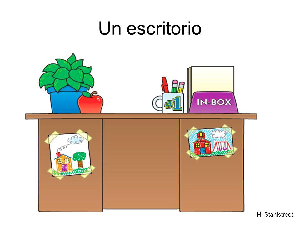 H. Stanistreet Un escritorio