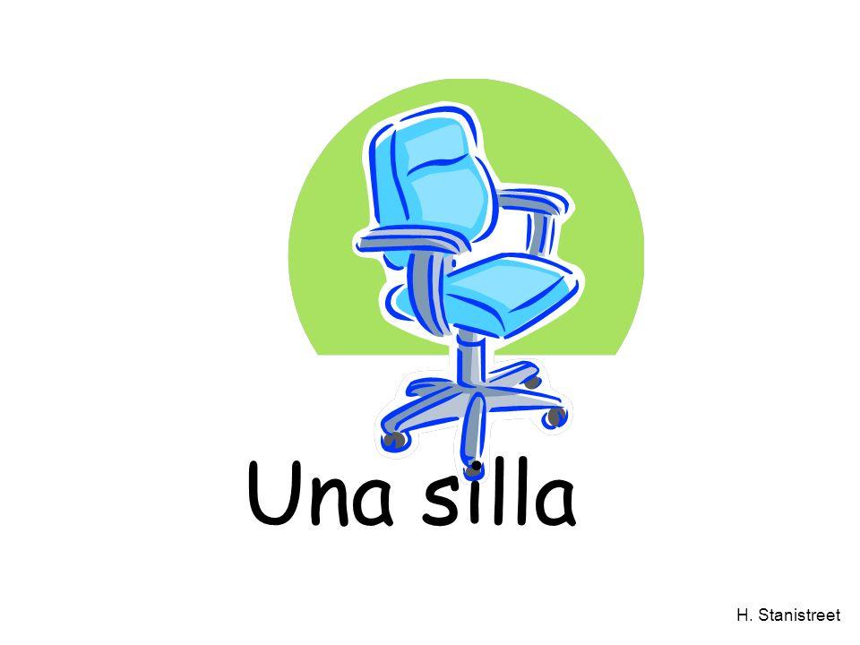 H. Stanistreet Una silla
