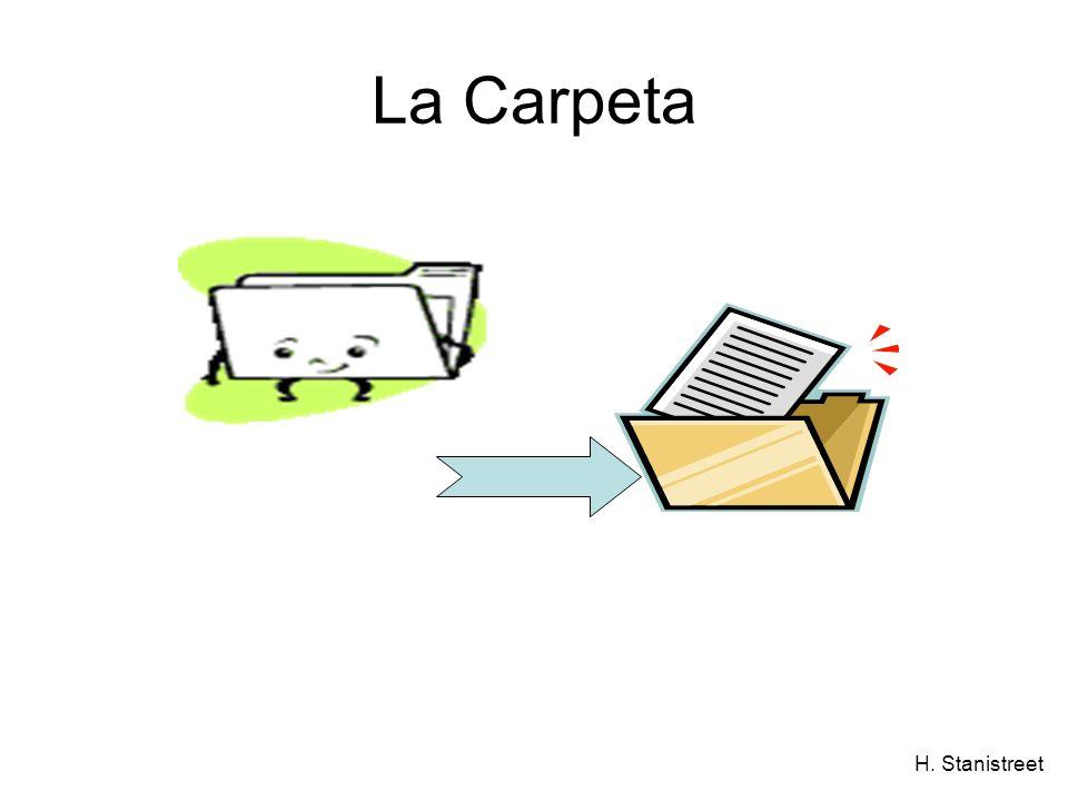 H. Stanistreet La Carpeta