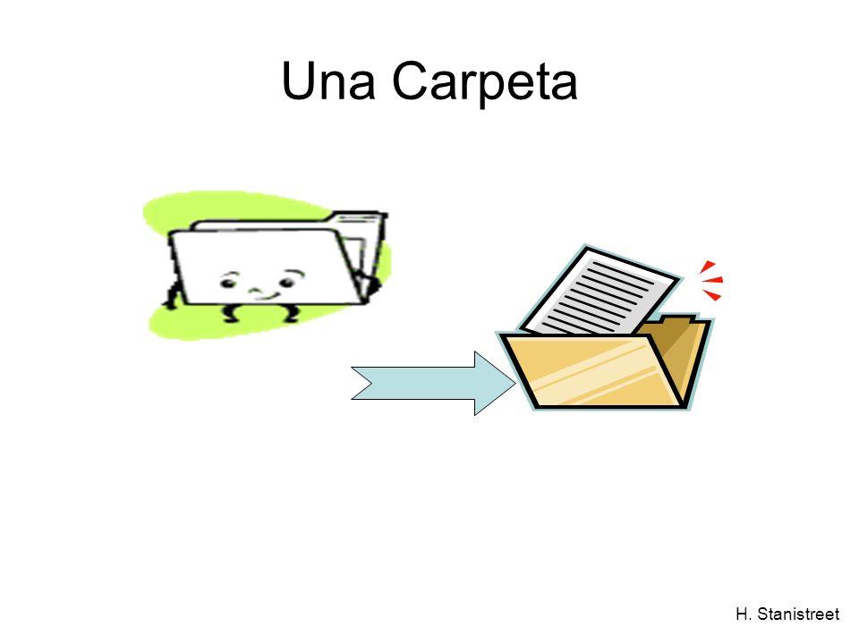 H. Stanistreet Una Carpeta