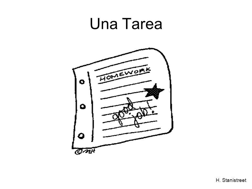 H. Stanistreet Una Tarea