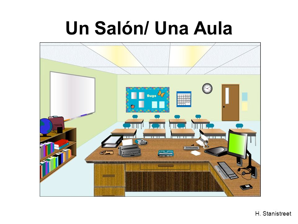 H. Stanistreet Un Salón/ Una Aula
